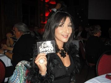 Susan Ebrahimi und DJ SWING-AK