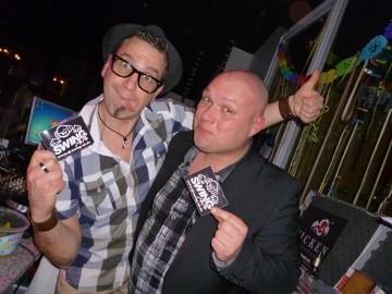 Buddy und DJ SWING-AK und Deejay Hulpa