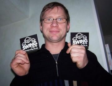 Olaf Pfaff und DJ SWING-AK
