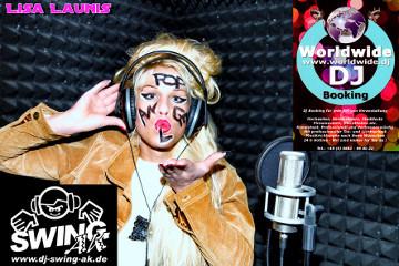 Lisa Launis und DJ SWING-AK