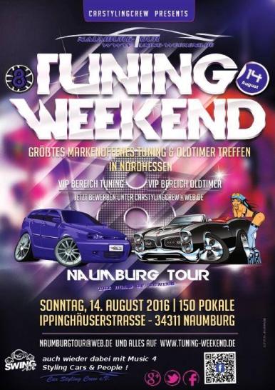 Naumburg Tour 2016 mit DJ SWING-AK