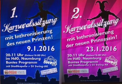 Karneval Naumburg DJ SWING-AK